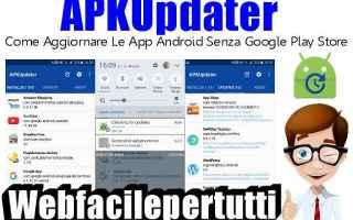 App: apkupdater  app android