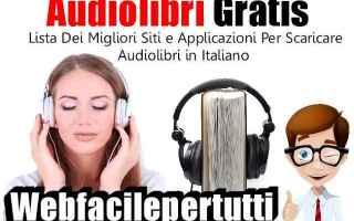 audiolibri gratis.italiano