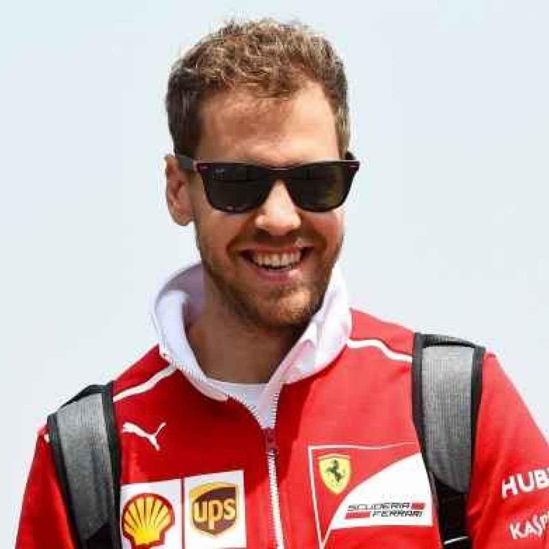 Volano le Ferrari in Barhain , con Sebatian Vettel che si candida alla pole