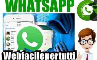Sicurezza: whatsapp virus attenzione