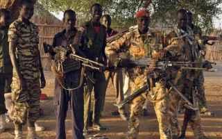 donald trump  sud sudan  guerra civile