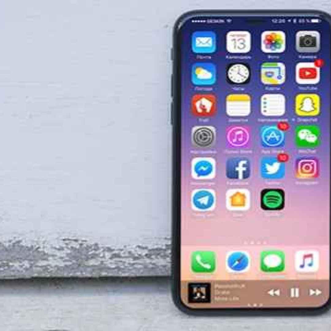 iPhone 8, con Infinity Display, 3 GB di RAM, e superbatteria