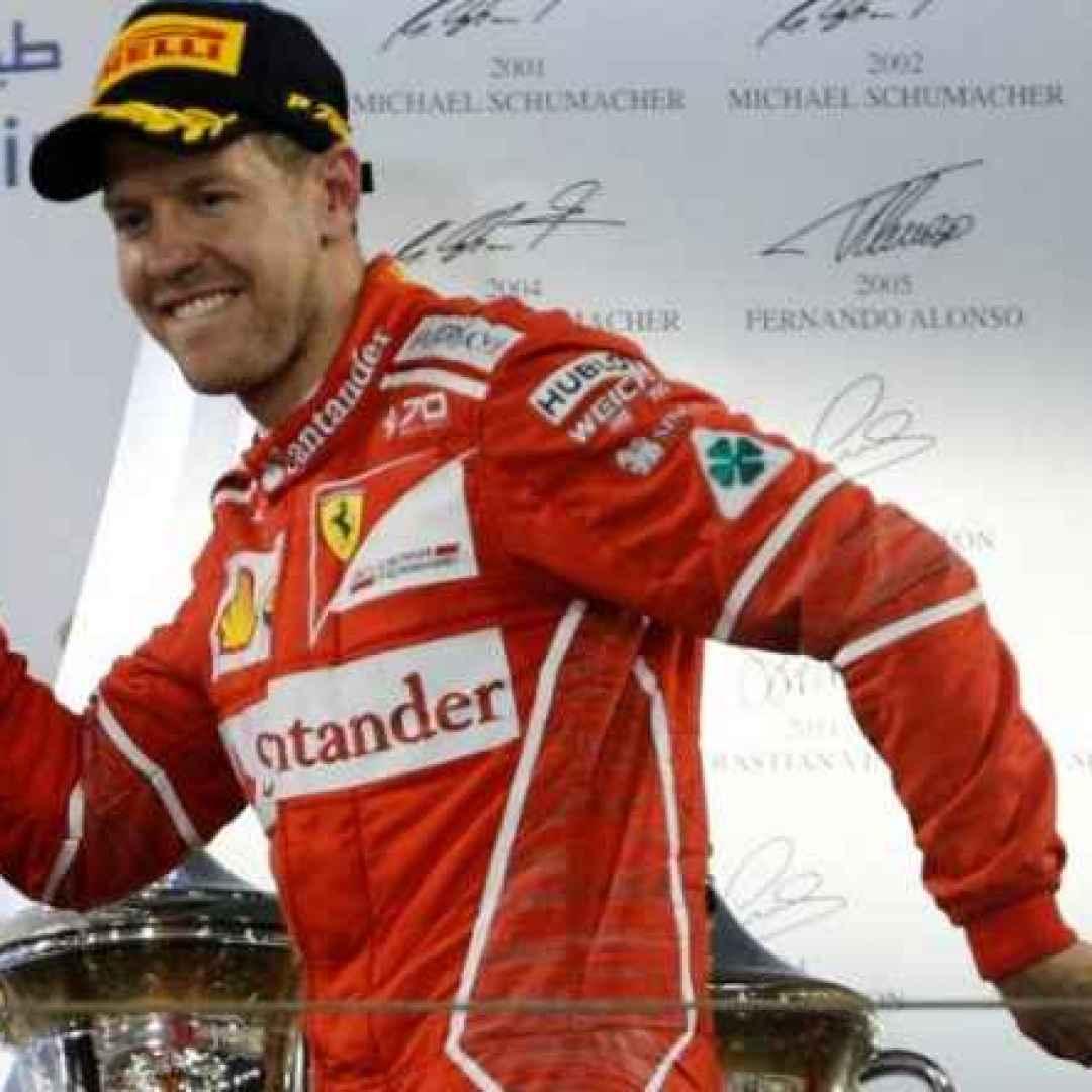 Gran Premio del Bahrain: trionfo Vettel, paura Mercedes