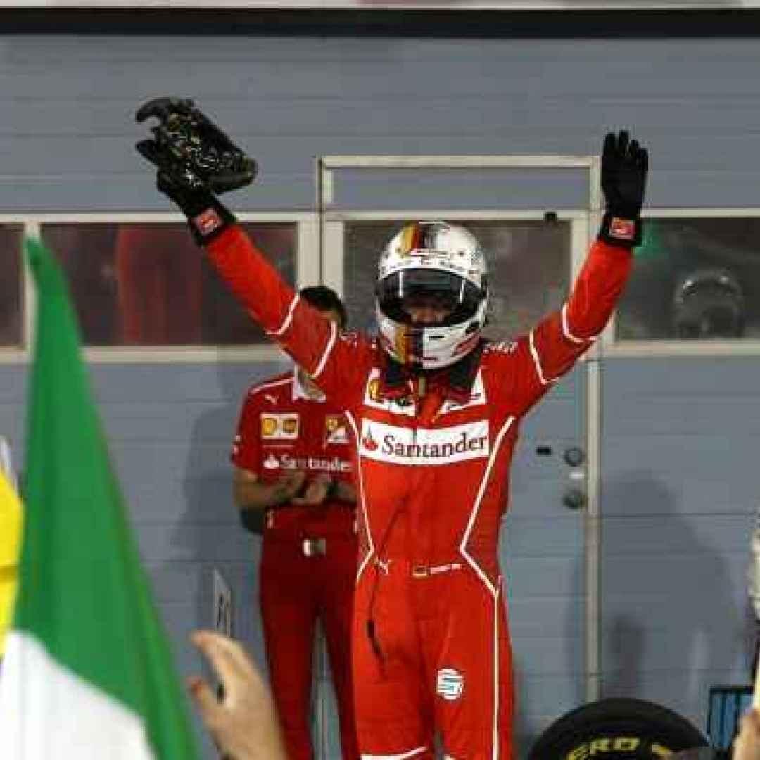 Vettel e la Ferrari volano in alto nel mondiale Formula 1