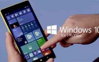 Microsoft: windows 10 windows phone