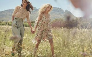 Moda: vestiti  vestiti floreale  zara