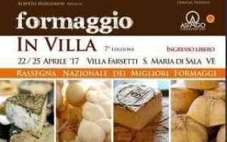 Gastronomia: formaggio in villa  enogastronomia