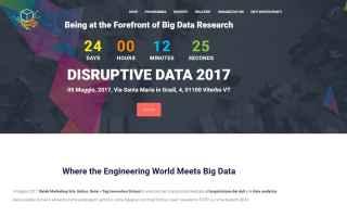 Internet: big data  disruptive data