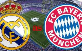 Champions League: real madrid  bayern monaco