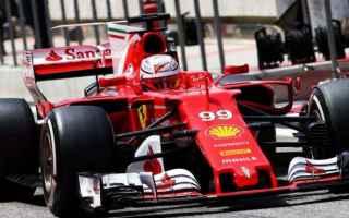 Formula 1: f1  ferrari  test  bahrain  giovinazzi