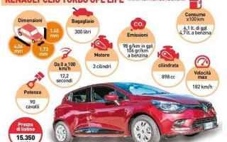Automobili: renault clio gpl