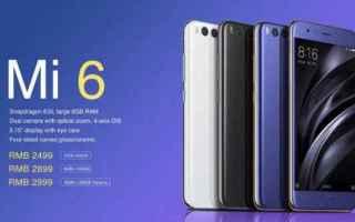 Cellulari: xiaomi mi 6  xiaomi  s8  mi 6  g6  tech