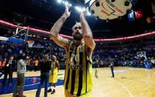 Basket: datome  fenerbahçe  italia  basket