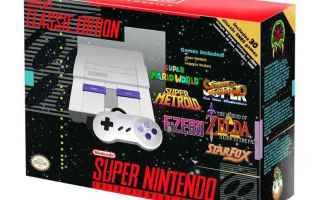 Console games: snes mini  videogiochi  retrogame