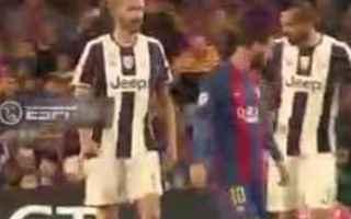 Champions League: messi  bonucci  juventus  chiellini