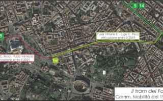 tram  roma  trasporto pubblico