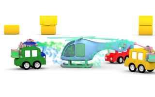 Video divertenti: cartoni animati  bambini  primavera