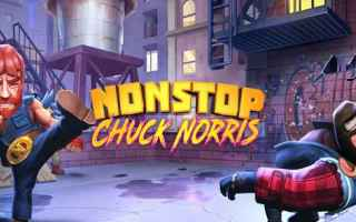 Mobile games: android iphone chuck norris videogames