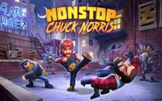 Mobile games: nonstop chuck norris  videogame