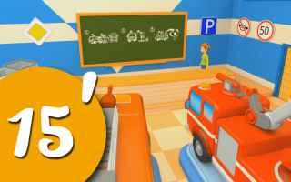 Video divertenti: Lily insegna ai camion come diventare dei bravissimi camion dei pompieri! - cartoni animati per bambini