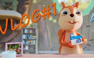 Video divertenti: cartoni animati  youtube  scoiattoli