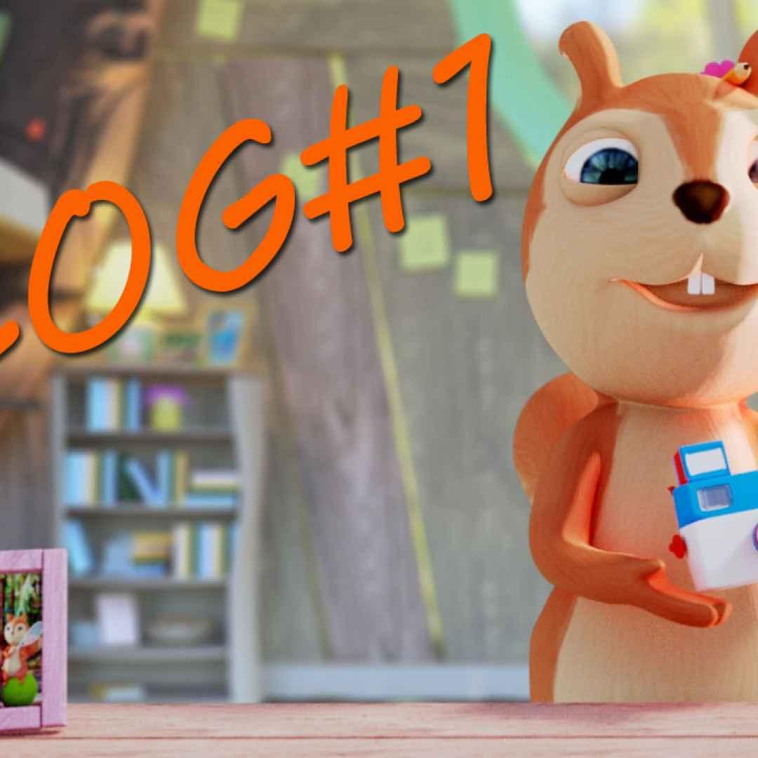 Il contesto e i boschi cartone infantile i cartoni animati il
