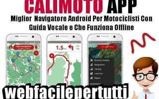 Moto: calimoto  app