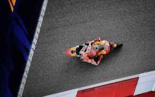 MotoGP: Il campione del mondo Marquez è il più veloce in FP2. Rossi quarto