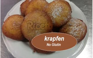 Ricette: no glutine  krapfen  ricetta  dolce