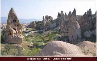 Viaggi: anatolia  camini delle fate  cappadocia