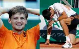 Tennis: tennis grand slam goffin djokovic