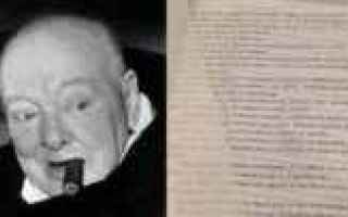 Storia: winston churchill extraterrestri