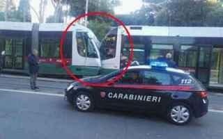 Roma: #Atac: Tamponamento tra tram in Via Labicana
