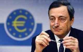 Borsa e Finanza: bce  draghi  euro  inflazione