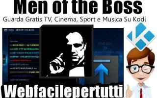 File Sharing: men of the boss  kodi  add on