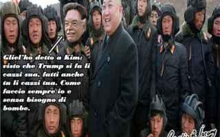 Satira: antonio razzi  donald trump  kim jong-un