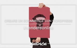 Webmaster: ecommerce  vendere online  wordpress