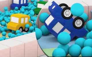 Video divertenti: cartoni animati  macchinine  gare