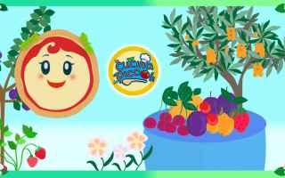 Video divertenti: cartoni animati per bambini - margherita gioca con la frutta primaverile