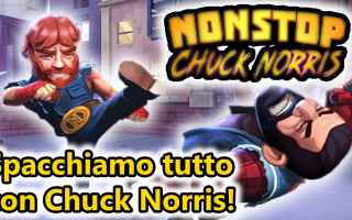Mobile games: chuck norris  android  azione  gameplay