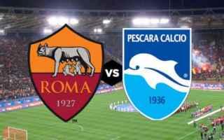 Serie A: pescara  roma