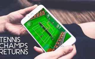 Mobile games: Tennix Champs Returns, videogame iOS e Android remake di Amiga
