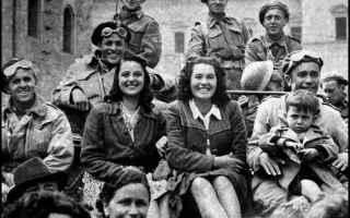 foto  liberazione  guerra  italia