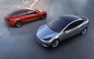 Automobili: tesla model 3  auto  cars  hi-tech