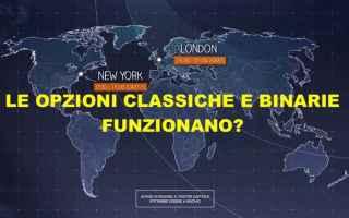Borsa e Finanza: opzioni classiche  opzioni binarie