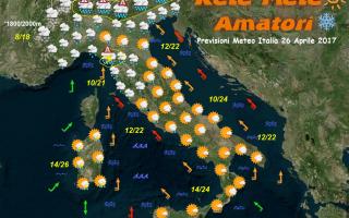 Meteo: previsioni meteo italia maltempo