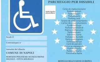 Leggi e Diritti: disabili contrassegno uso fotocopia