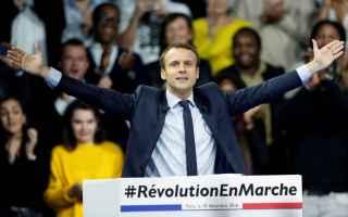 Politica: francia  macron  parigi