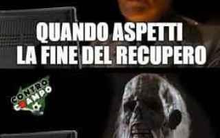 Calcio: news  milan  recupero
