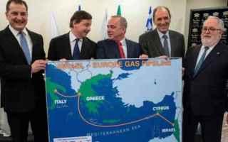 dal Mondo: israele  italia  gasdotto  gas  europa
